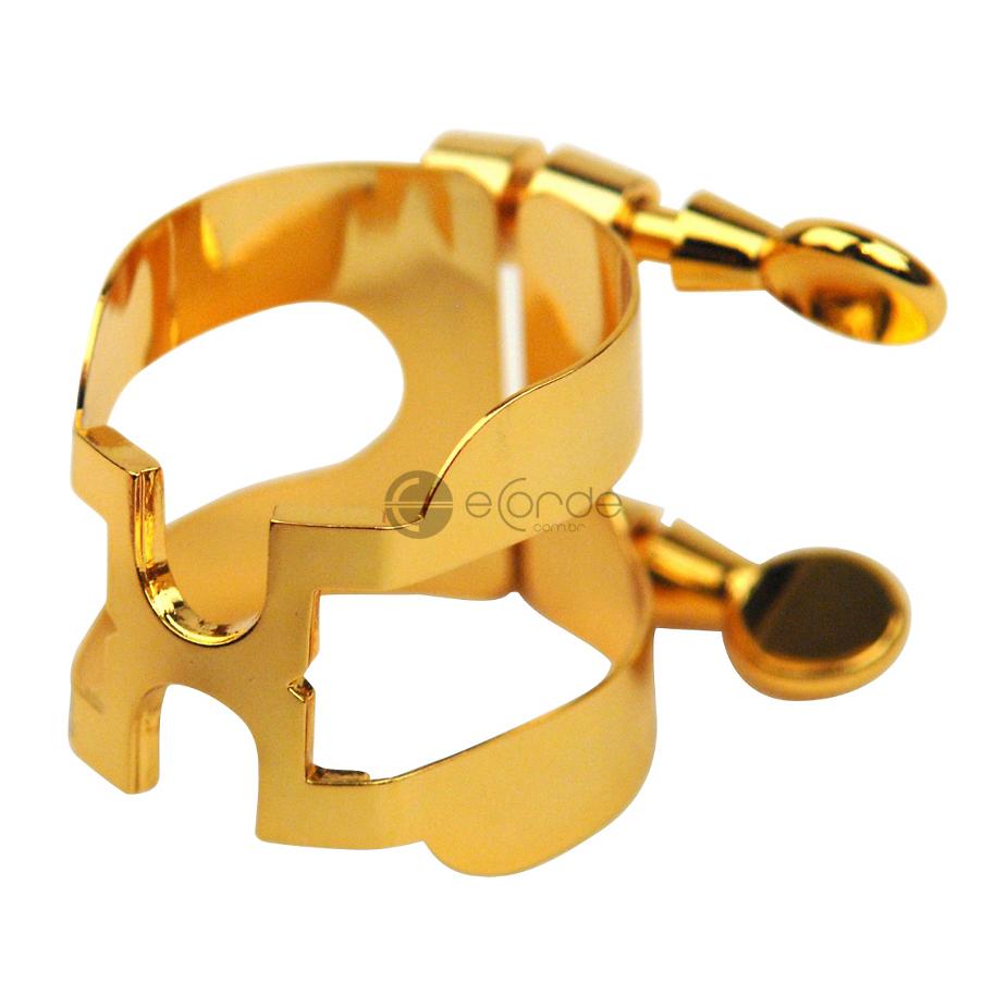 Imagem Extra 2: Abraçadeira Rico H / Dourada - Sax Alto Eb.