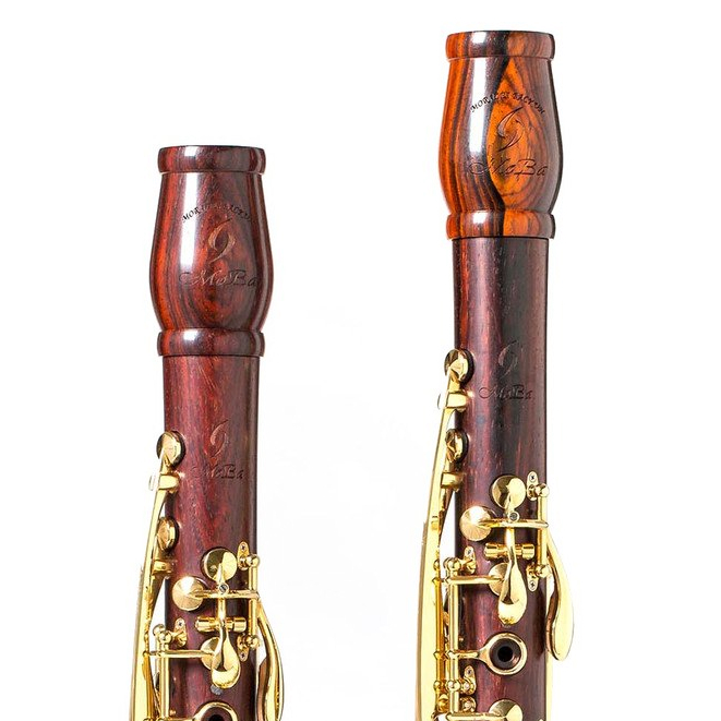Imagem Extra 1: Barrilhete Clarinete Bb e A - Backun MoBa Grenadilla.