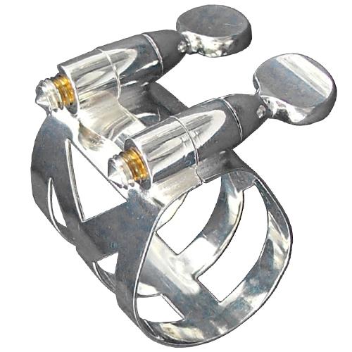 Imagem Extra 1: Abraçadeira Selmer / Prata - Boquilha Metal - Sax Alto Eb.