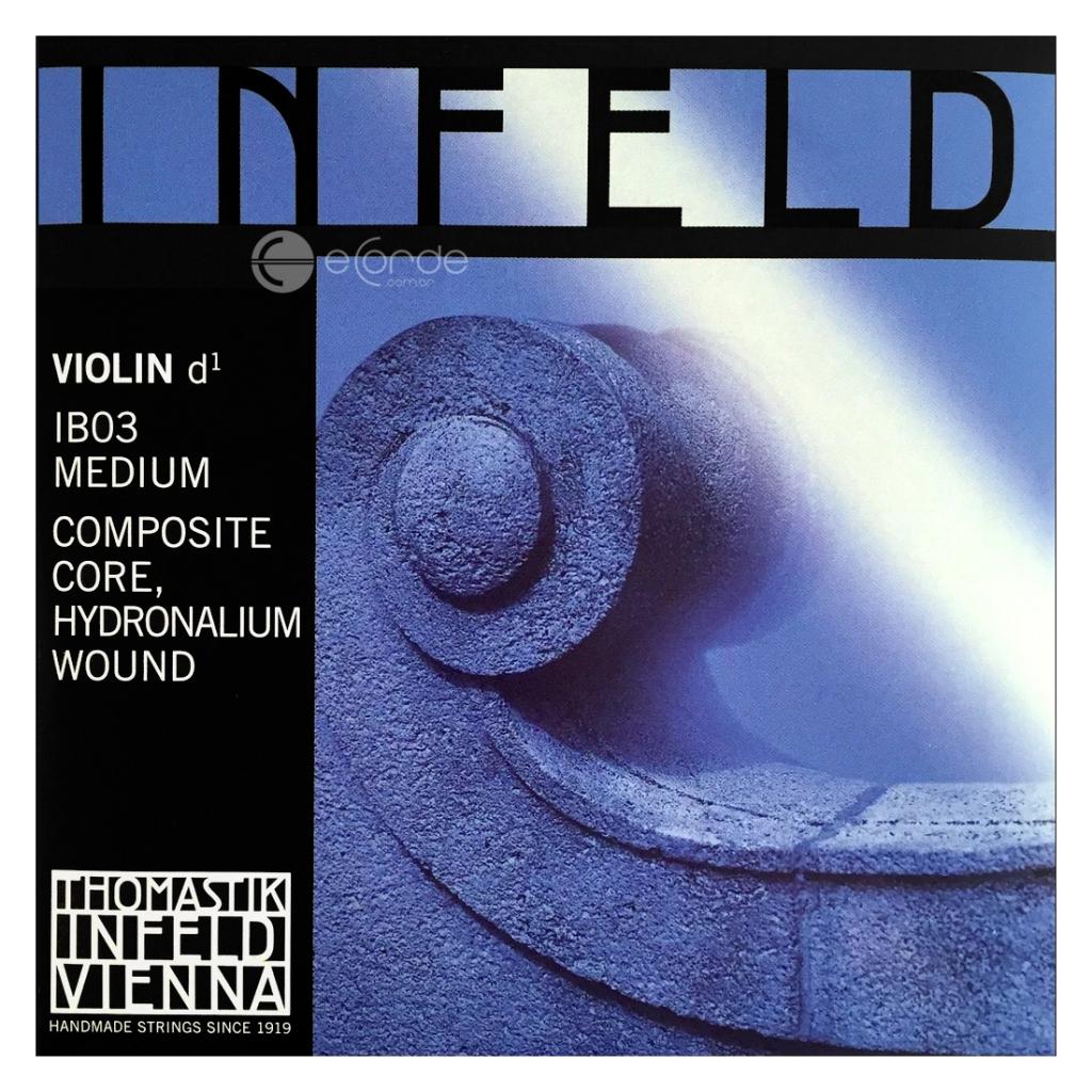 Imagem Extra 3: Encordoamento Violino - THOMASTIK INFELD BLUE.