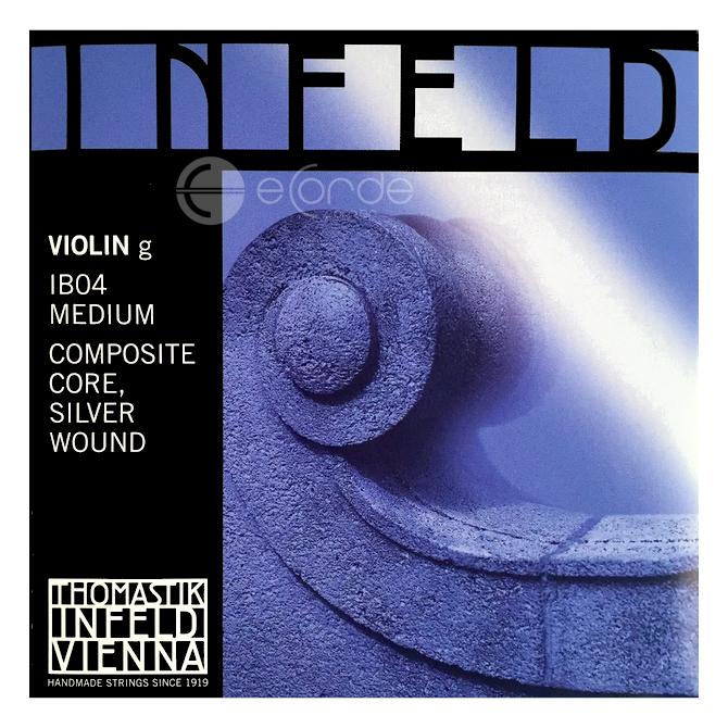Imagem Extra 4: Encordoamento Violino - THOMASTIK INFELD BLUE.
