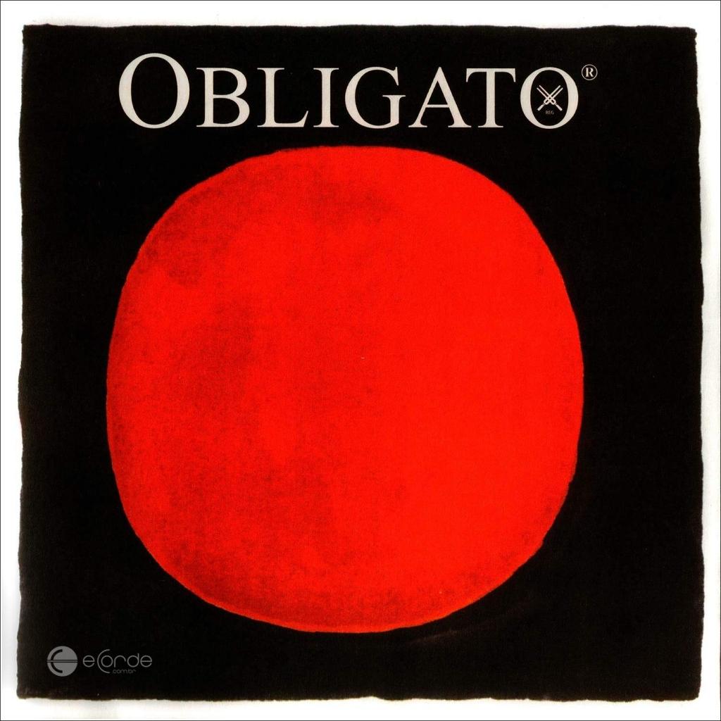 Imagem Extra 1: Jogo de Cordas para Violino - PIRASTRO OBLIGATO - GOLD / MÉDIA.