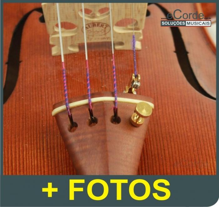 Afinador Wittner para Violino 4/4 - Dourado