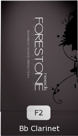 Palheta Forestone Synthetic 2.0 - Clarineta Bb