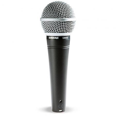 Foto principal do produto Microfone Dinâmico Cardióide Com Bag - SHURE SM48-LC - Vocal