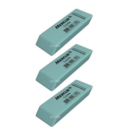 Foto principal do produto 3 x Borracha Verde Mercur Clean - Látex