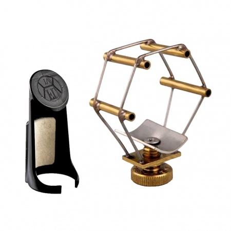 Foto principal do produto Abraçadeira FRANÇOIS LOUIS Sax Alto - Ultimate / Brass - Boquilha Plástica