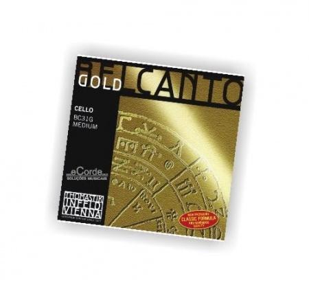Foto principal do produto Corda SOL CELLO - THOMASTIK BELCANTO - GOLD MULTIALLOY