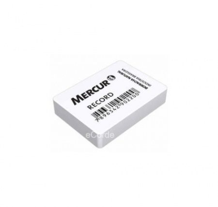 Foto principal do produto 1 x Borracha Branca Record Mercur 60 - Látex