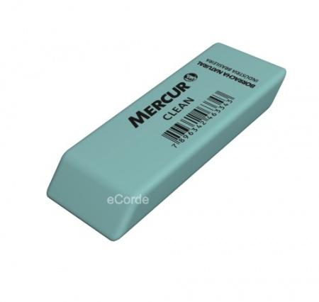 Foto principal do produto 1 x Borracha Verde Mercur Clean - Látex