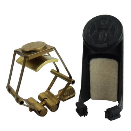 Foto principal do produto Abraçadeira François Louis Pure Brass - Boquilha Plástica - Sax Alto Eb