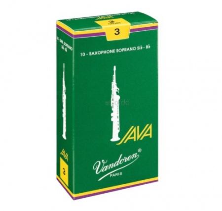Foto principal do produto Caixa de Palhetas Vandoren JAVA 2.5 - Sax Soprano