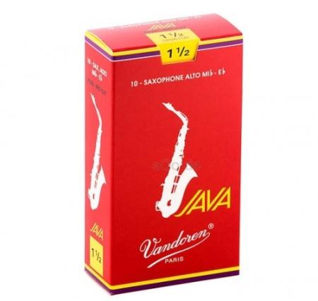 Foto principal do produto Caixa de Palhetas Vandoren JAVA RED - 3.5 - Sax Alto