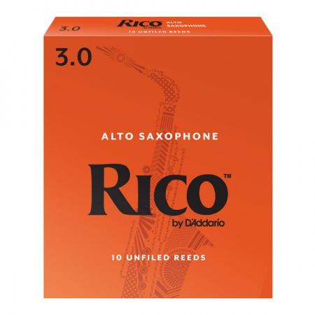 Foto principal do produto Caixa de Palhetas Rico Red by Daddario - 3.5 - Sax Alto