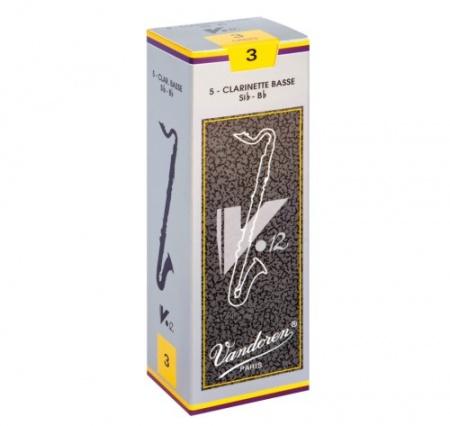 Foto principal do produto Caixa de Palhetas Vandoren V12 - 3.0 - Clarone Bb