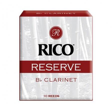 Foto principal do produto Caixa de Palhetas Rico Reserve - 4.5 - Clarineta Bb