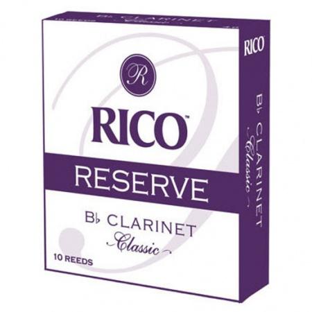 Foto principal do produto Caixa de Palhetas Rico Reserve Classic - 2.0 - Clarineta Bb