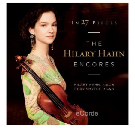 Foto principal do produto CD Duplo In 27 Pieces - Encores (Bis) - Hilary Hahn
