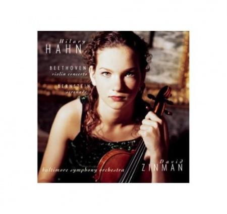 Foto principal do produto CD Concertos para Violino - BEETHOVEN / BERNSTEIN - Hilary Hahn