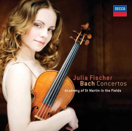 Foto principal do produto CD Concertos para Violino - BACH - Julia Fischer