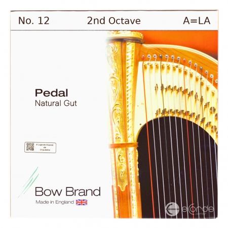 Foto principal do produto Corda LÁ Harpa Pedal - 2º Oitava TRIPA - BOW BRAND