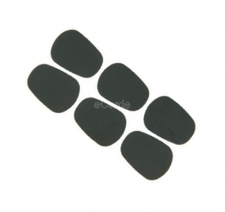 Foto principal do produto 6 x Protetores de Boquilha Cushion BG - A10L Black 0,80mm - Large