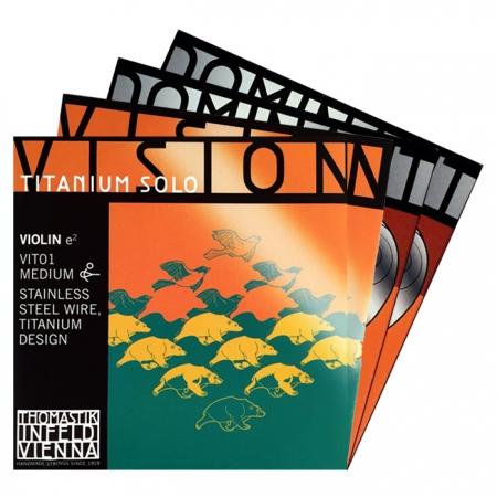 Foto principal do produto Jogo Montado P/ Violino 4/4 - VISION TITANIUM SOLO + DOMINANT