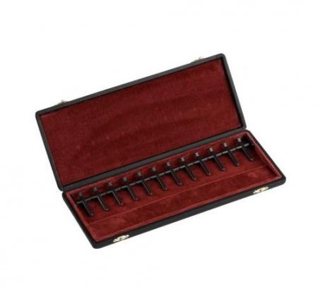 Foto principal do produto Estojo para Palhetas de Fagote - J. Winter Leather / 12 Palhetas