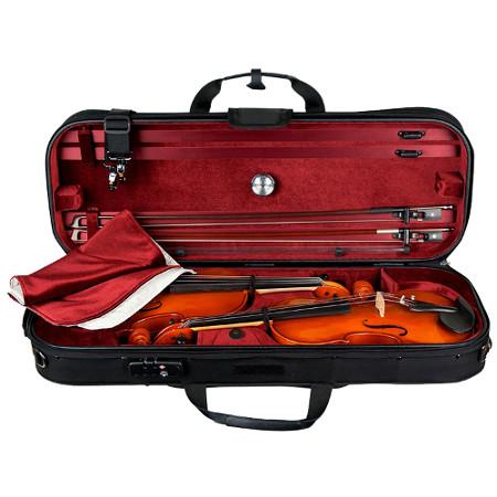 Foto principal do produto Estojo para Dois Violinos 4/4 - Duplo Protec Professional PRO PAC
