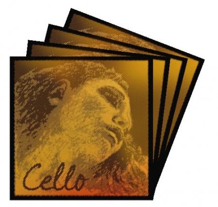 Foto principal do produto Jogo de Cordas para Cello - PIRASTRO EVAH PIRAZZI NEW GOLD