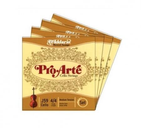 Foto principal do produto Jogo de Cordas para Cello 3/4 - DADDARIO PRO ARTE