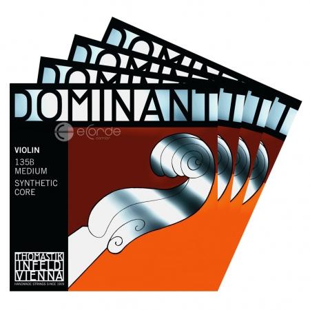 Foto principal do produto Jogo de Cordas para Violino - THOMASTIK DOMINANT - AÇO