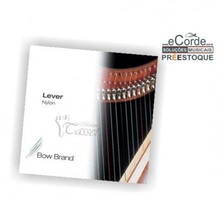 Foto principal do produto Jogo de Cordas para Harpa Pedal - 0º Oitava NYLON -  BOW BRAND
