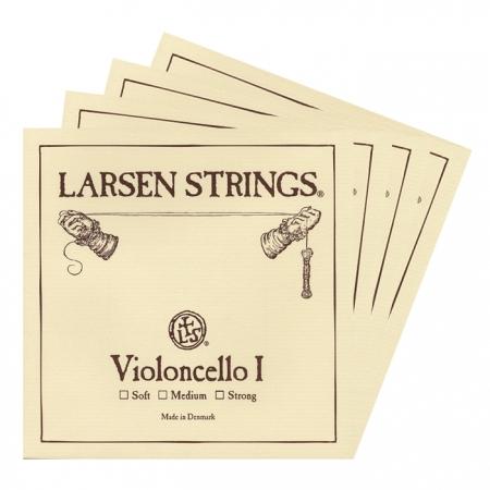 Foto principal do produto Jogo de Cordas para Cello - LARSEN / MÉDIA