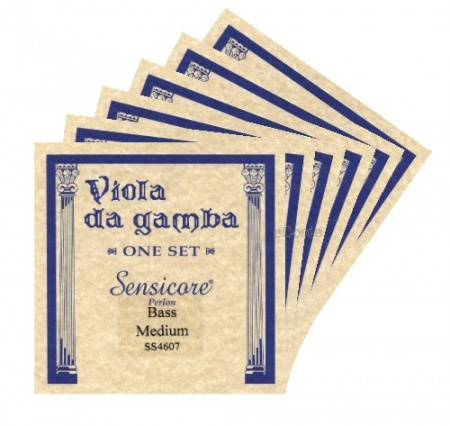 Foto principal do produto Jogo de Cordas para Viola da Gamba - SENSICORE BASS