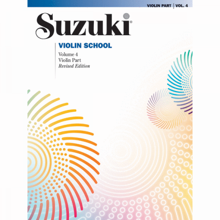 Foto principal do produto Método Suzuki para Violino Volume 4 - Revisado / Inglês