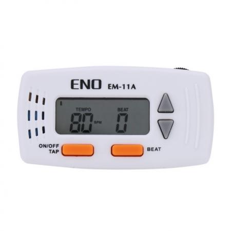 Foto principal do produto Metrônomo Mini Clip ENO EM-11A - Branco