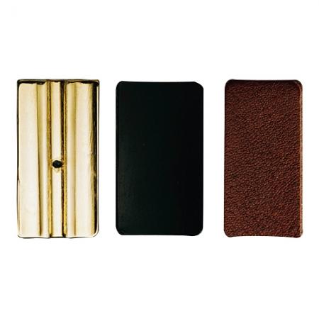 Foto principal do produto Placas P/ Abraçadeira Vandoren Leather - Clarineta Bb