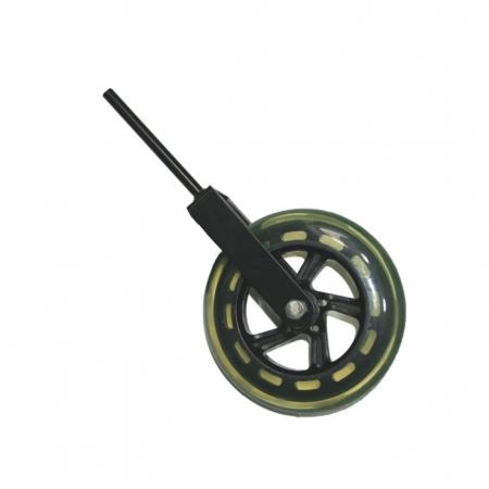 Foto principal do produto Roda Maciça de Transporte Para Baixo Acústico Glasser - Sem Freio / Eixo 10mm