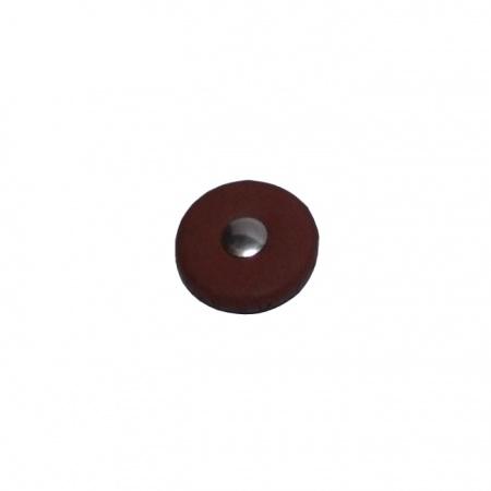 Foto principal do produto Sapatilha eCorde Lambskin Leather Deluxe Niquel - Sax Tenor / 19mm