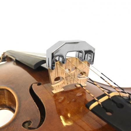 Foto principal do produto Surdina eCorde Cromo Para Estudos Noturnos - Violino / Viola