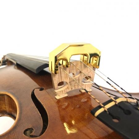Foto principal do produto Surdina eCorde Golden Para Estudos Noturnos - Violino / Viola