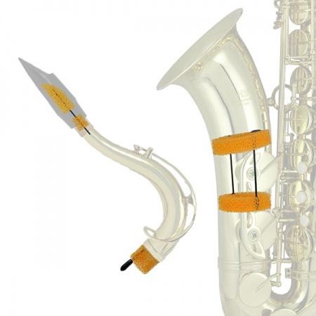 Foto principal do produto Surdina de Estudo SaxMute - Sax Barítono